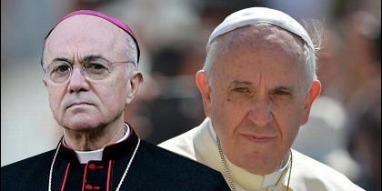 El Papa y el ex nuncio Viganó