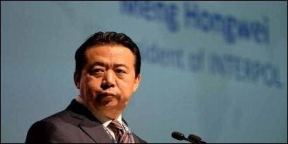 Meng Hongway ex presidente de Interpol