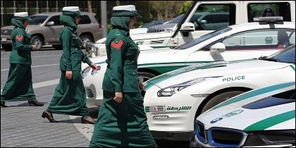 Policía de Dubai