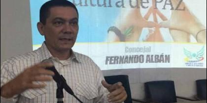 El opositor venezolano Fernando Albán