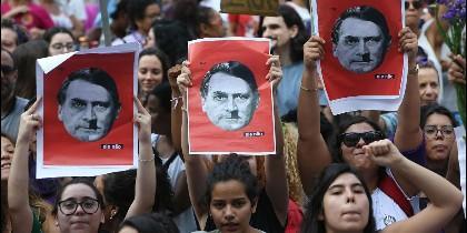 Los brasileños se movilizan contra Bolsonaro