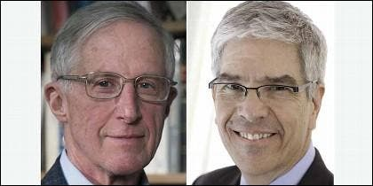 Nobel de Economñia 2018: William D. Nordhaus y Paul Romer.