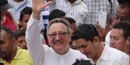 El obispo de Jutiapa (Guatemala), Antonio Calderón Cruz