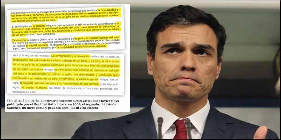 Resultado de imagen de La Moncloa publicó un comunicado falso para salvar la tesis de Pedro Sánchez