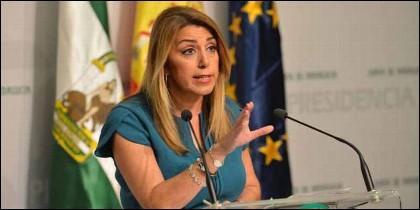 La presidenta de la Junta de Andalucía, Susana Díaz (PSOE).