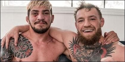 Dillon Danis y Conor McGregor