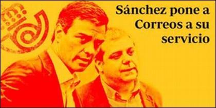 Correos: Pedro  Sánchez y Juan Manuel Serrano.