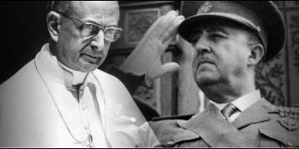 El proceso de canonización de Montini incluyó un apartado sobre su relación con Franco