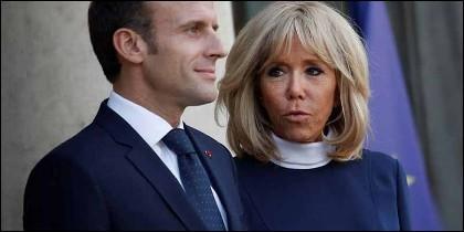 Emmanuelle y Brigitte Macron.