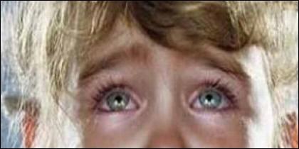 Niños, llanto y miedo.