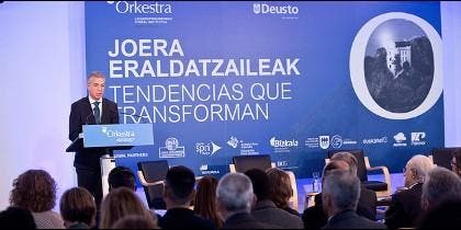 "Conferencia ""Tendencias que transforman"""