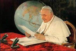Juan XIII, 'discurso de la luna'