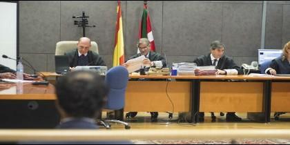Sala de juicio del caso Gaztelueta