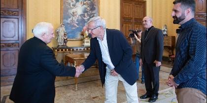 Cañizares, con Joan Ribó