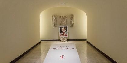 Esta será la nueva tumba de San Pablo VI