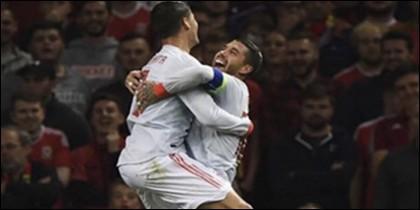 Morata y Ramos