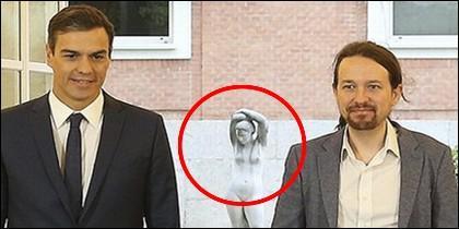 Pedro, Pablo y la mujer desnuda