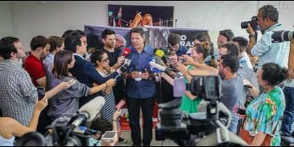 'El candidato no vino a pedir apoyo y la CNBB no tiene partido ni candidato'