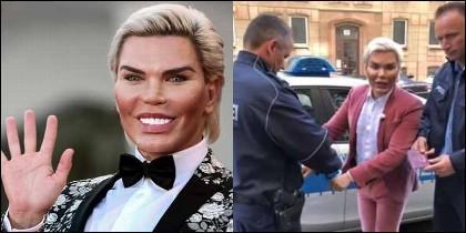 Rodrigo Alves, el Ken humano, es arrestado en Berlín.