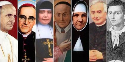 Los siete nuevos santos
