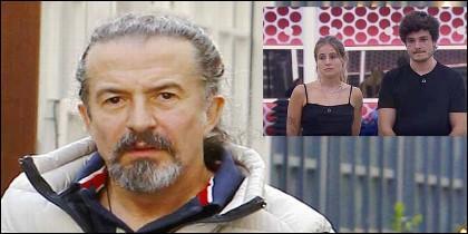José María Cano y en el recuadro María y Miki de OT.