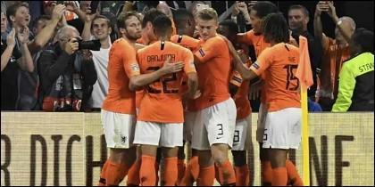 Holanda goleó a Alemania  (3-0) en la UEFA Nations League.