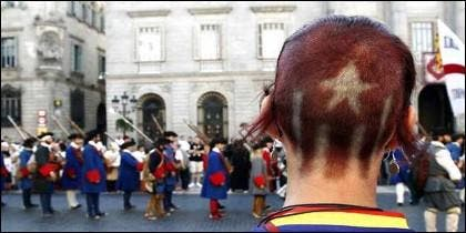 Independentismo e independentistas en Cataluña.