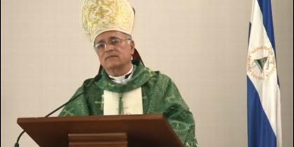 El obispo auxiliar de Managua, Silvio José Báez