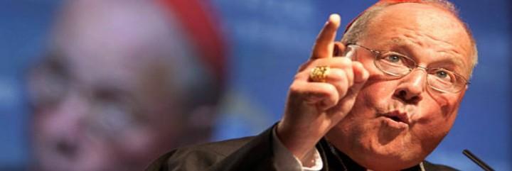 El arzobispo de NY, más aislado que nunca tras los elogios papales a Wuerl