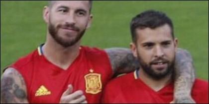 Jordi Alba y Ramos