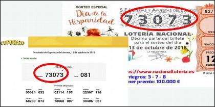 Lotería y cuponazo