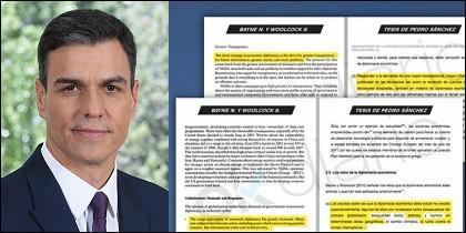 Pedro Sánchez y su fake tesis