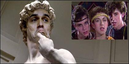 Un meme de Pedro Sánchez 'Gay' con 'Mecano', en su etapa juvenil.