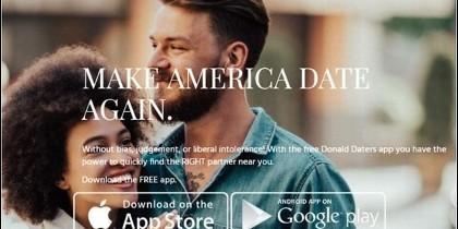 Donald Daters, la app de cita de los fans de Trump