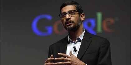 Sundar Pichai, director ejecutivo de Google