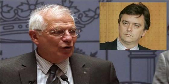 Josep Borrell y André Hebbelinck.