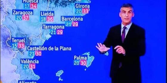 El 'golpista' nuevo mapa de 'El Tiempo'.
