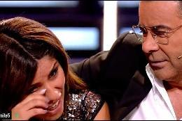 Chabelita rompe a llorar junto a Jorge Javier