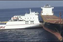 Choque de barcos