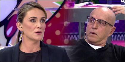 Carlota Corredera y Kiko Matamoros.