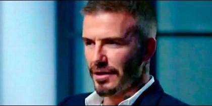 David Beckham en la entrevista del programa TV australiana