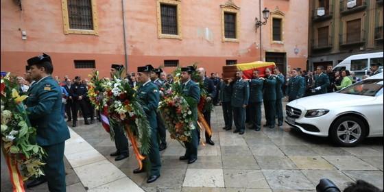 Despedida del agente asesinado en Granada.