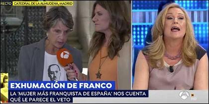 Pilar Gutiérrez VS Elisa Beni.