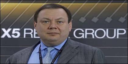 El magnate ruso Mikhail Fridman, dueño de la cadena de supermercados X5 Retail Group.