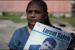 Yamile Saleh, la madre del venezolano desterrado Lorent Saleh