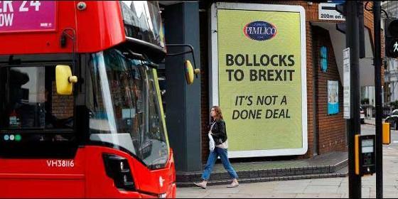 La manifestación que reclama un segundo referéndum sobre el Brexit desborda Londres