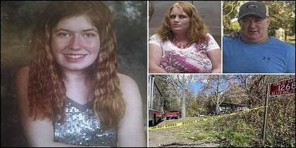 Jayme Closs y sus padres