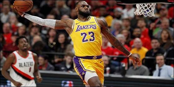 Lebron James con los Lakers