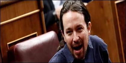 Pablo Iglesias alias 'El Coletas' de Podemos.