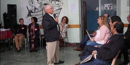 Euquerio, en el Encuentro misionero en Dueñas